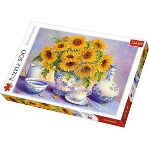 Παζλ Trefl:Sunflowers 500pcs 37293