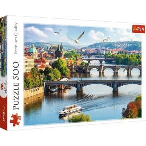Παζλ Trefl:Praga Czechy 500pcs 37382