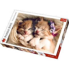 Παζλ Trefl:Sleeping kittens 500 pcs 37271