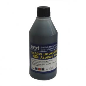 Μελάνι για μαρκαδόρο πίνακα μαύρο 500 ml Next