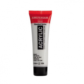 Amsterdam Acrylic 120ml 104 zinc white