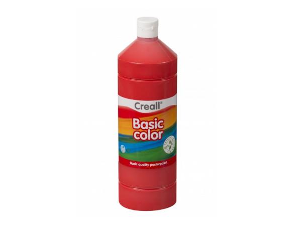 Τέμπερα Creall Basic Color 1000 ml 07 Primary Red